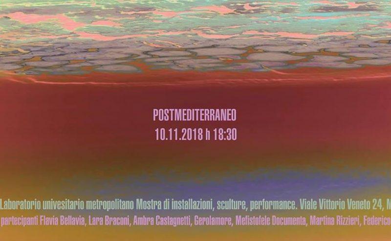 Postmediterraneo – 10 Novembre @ LUMe