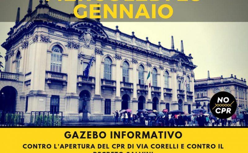 Vin brûlé & gazebo no CPR – 28 novembre @ Piazza Leonardo Da Vinci