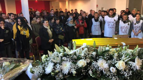 Funerali del combattente internazionalista YPG Farid Medjahed (Şahin Qereçox)