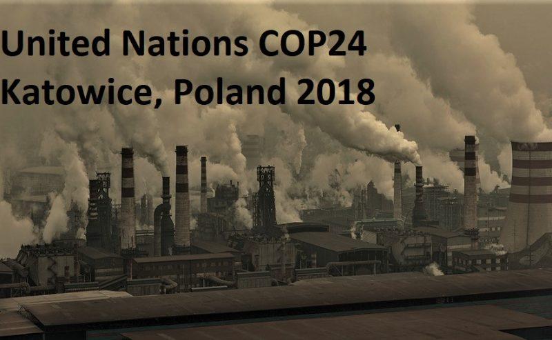Appunti su COP24 , i cambiamenti climatici e il futuro della razza umana