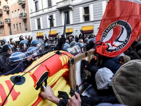 Antifascisti a processo