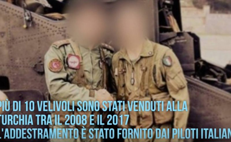 Gli elicotteri italiani che hanno massacrato i civili ad Afrin