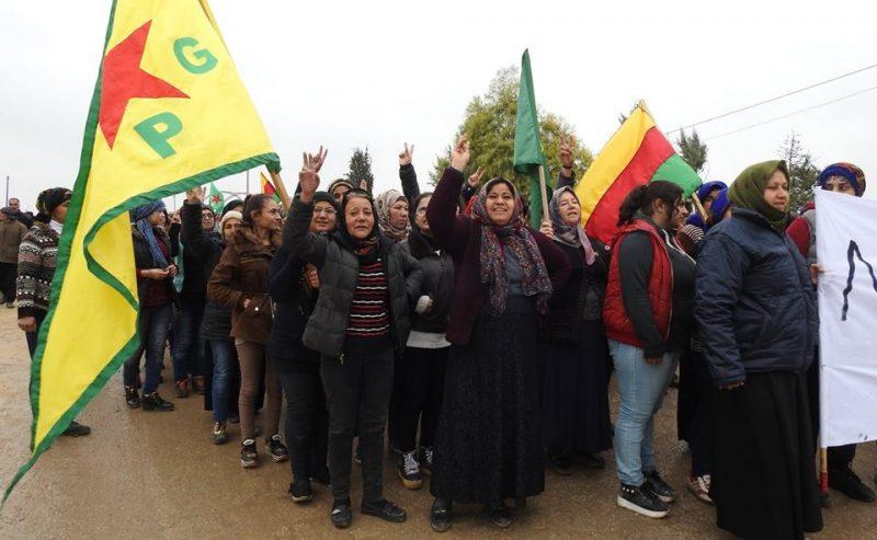 20 dicembre ore 18,30 presidio contro i bombardamenti in Kurdistan @ Palazzo delle Stelline