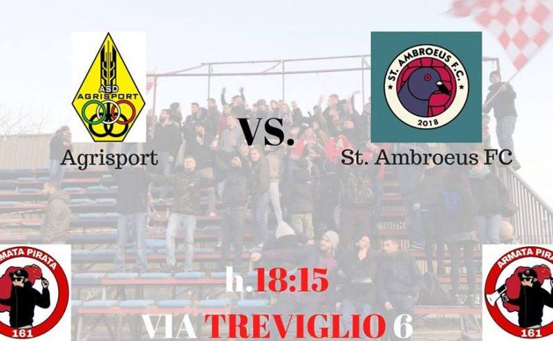 Agrisport-St.Ambroeus Fc – 20 gennaio