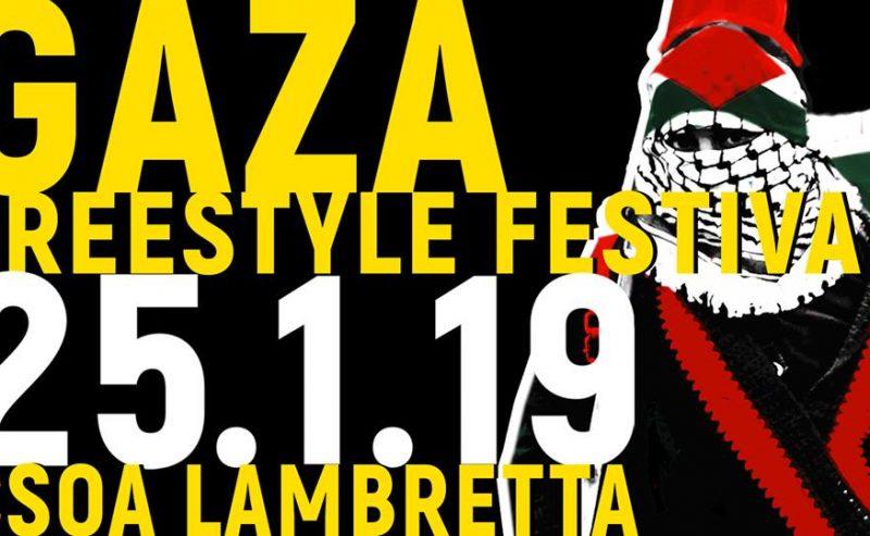 Racconti dalla Striscia – Progetto GazaFREEstyleFestiva – 25 gennaio @ Lambretta