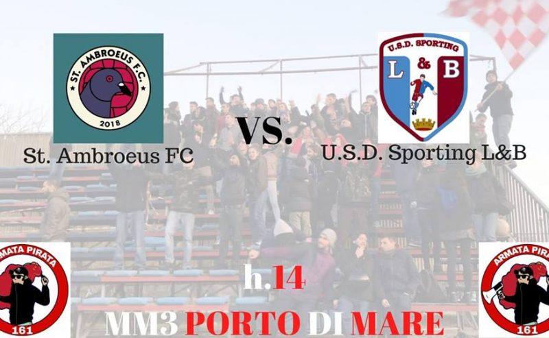 St. Ambroeus vs. Sporting L&B – 26 gennaio