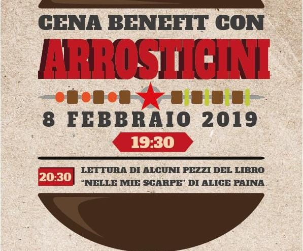 Cena Legale con arrosticini e letture – 8 febbraio @ Lambretta