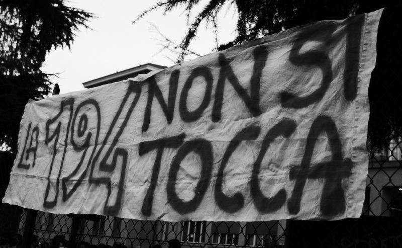 Difendiamo la 194 – Siamo tutte antifasciste!