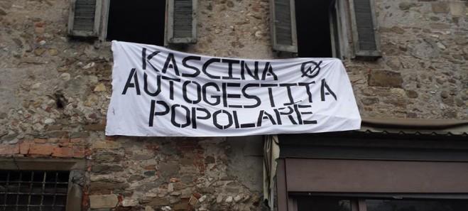 """Il Kap contro il Comunedi Bergamo: """"Difentimo la Kascina!"""""""