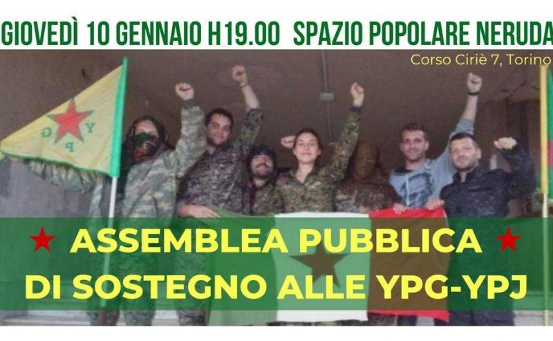 Comunicato di Eddy, Jacopo, Jak, Davide e Pachino. Solidarietà alle YPG/YPJ