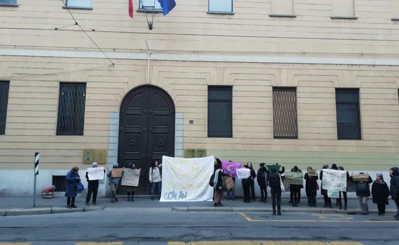 Azione di solidarietà con le donne curde in sciopero della fame