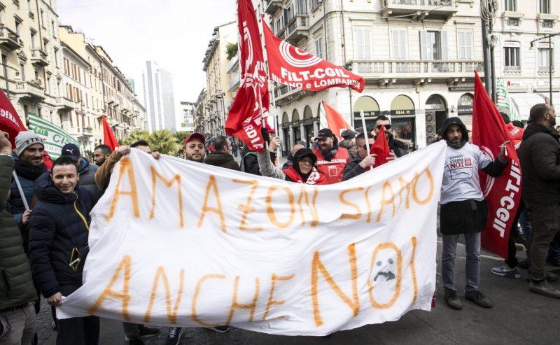 """Driver Amazon in sciopero: """"Basta essere sfruttati"""""""