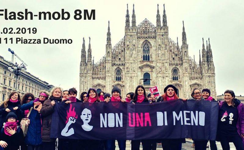 Flash-mob: Lancio sciopero 8 marzo!