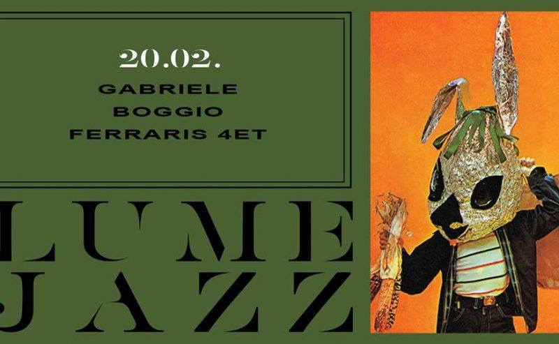 UMeJazz | Gabriele Boggio Ferraris 4tet – 20 febbraio @ LUMe