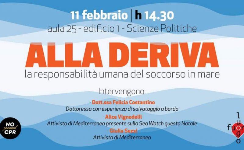 Alla Deriva: la responsabilità umana del soccorso in mare -11 febbraio @ SciPol