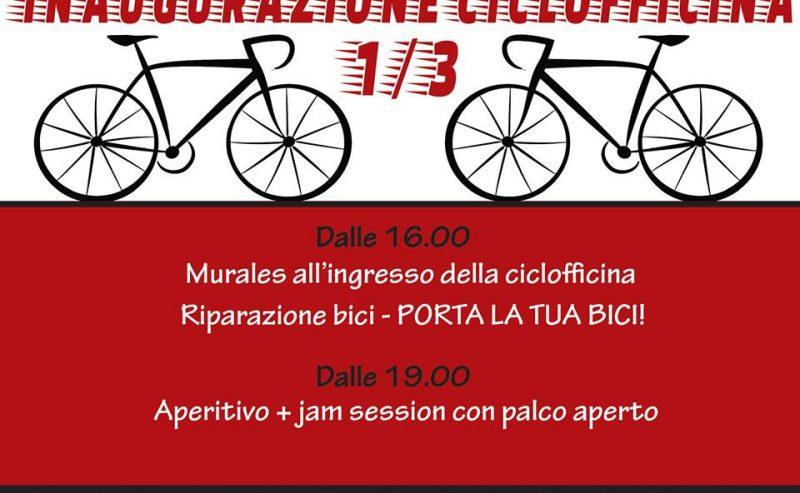 Inaugurazione Ciclofficina – 1 marzo @ Lambretta