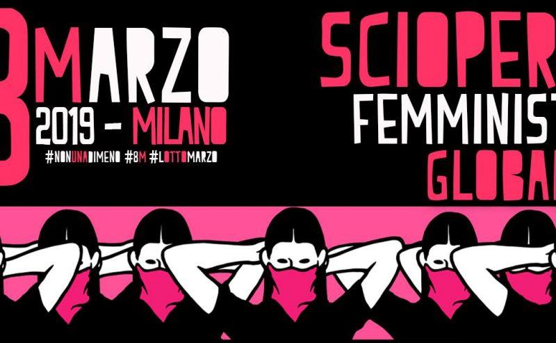 8 marzo a Milano: sciopero femminista globale!