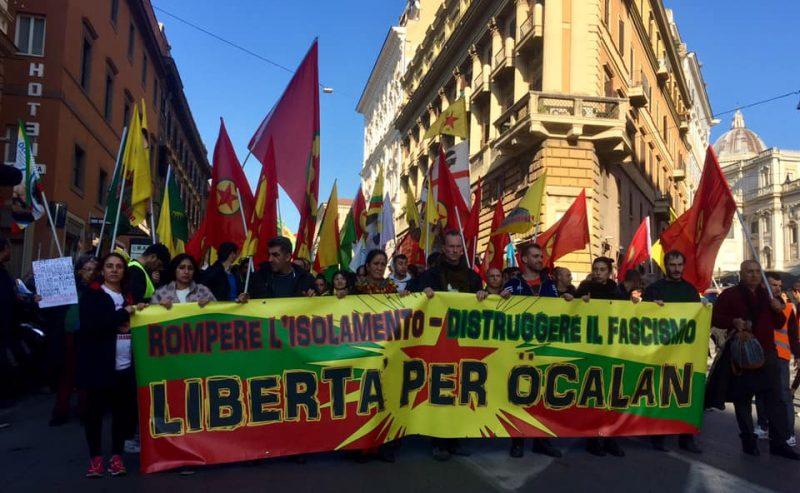 Intervento letto al corteo del 16 febbraio a Roma  per la liberazione di tutte e tutti i prigionieri politici
