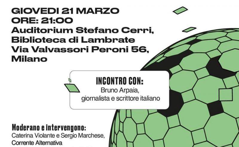Raccontare il cambiamento climatico – 21 marzo @ Valvassori Peroni