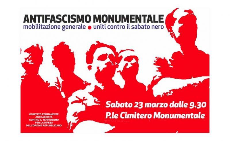 Uniti contro il sabato nero – 23 marzo @ Cimitero Monumentale