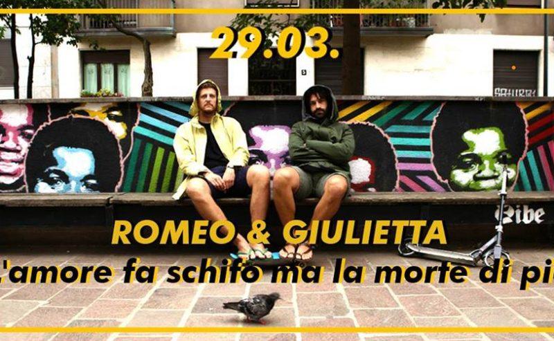 Romeo & Giulietta | LUMe Teatro – 29 marzo @ LUMe