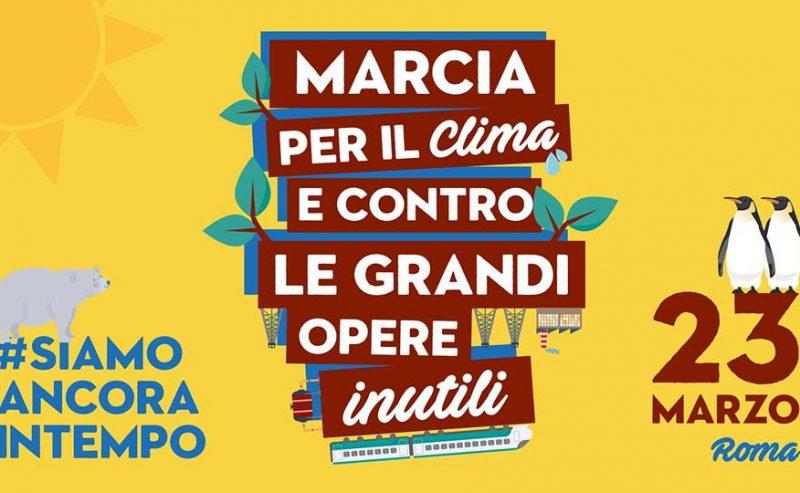 23/03 Marcia per il Clima – Partenza da Milano