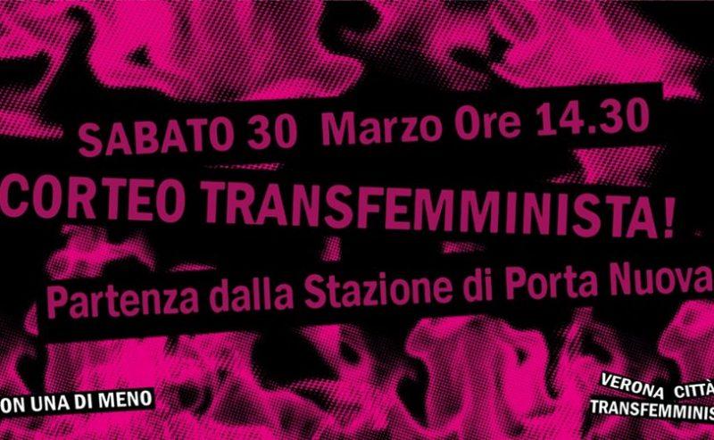 30M: Corteo Verona Transfemminista_Non Una Di Meno