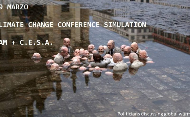 CCCS – Climate Change Conference Simulation – 29 marzo @ ZAM
