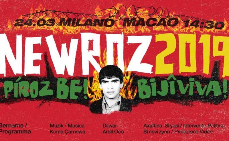 24 marzo 2019, Newroz in onore di Orso e Zulkuf Gezer