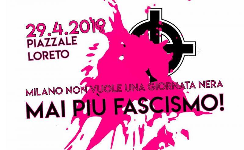 Mai più fascismo! – Milano in piazza – 29 aprile @ piazzale Loreto