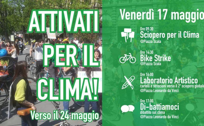 Bike Strike e attività verso il global strike | 17 maggio Milano