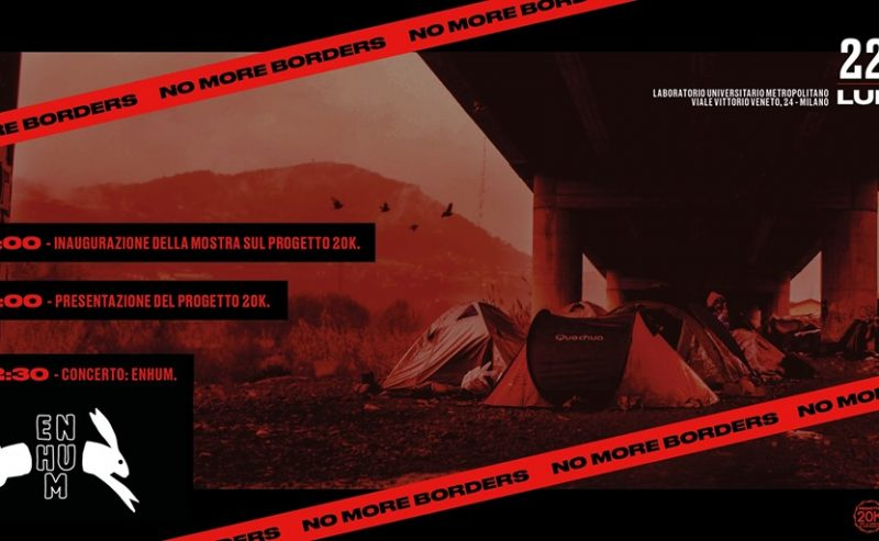 LUMeSuono against the borders! – 22 maggio @ LUMe