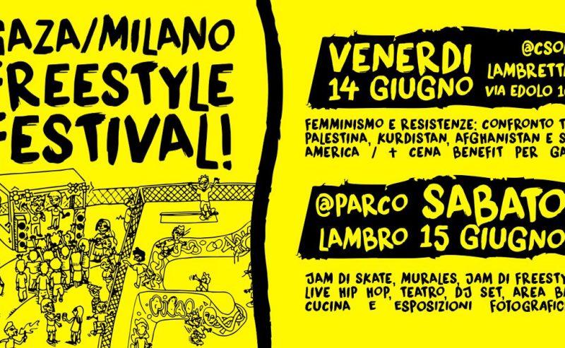 Gaza/Milano FREEstyle Festival