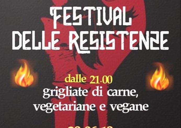 Grigliata Benefit per il Festival Delle Resistenze – 29 giugno @ ZAM
