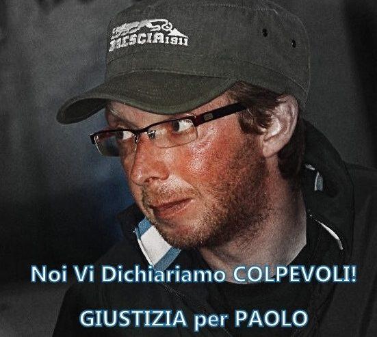 Noi vi dichiariamo colpevoli! Giustizia per Paolo Scaroni