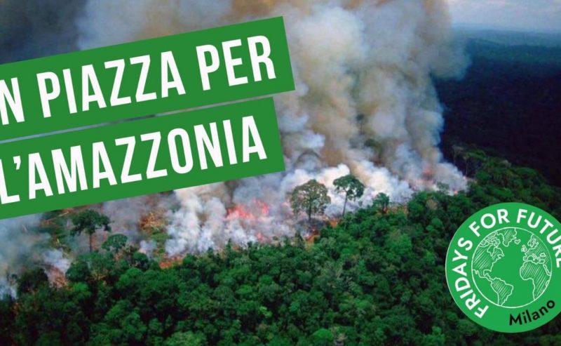 SOS Amazzonia – presidio al consolato brasiliano