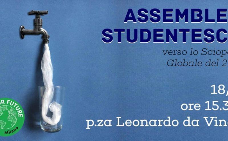 Le scuole verso il 3° sciopero globale per il clima | Assemblea @ piazza Leonardo Da Vinci