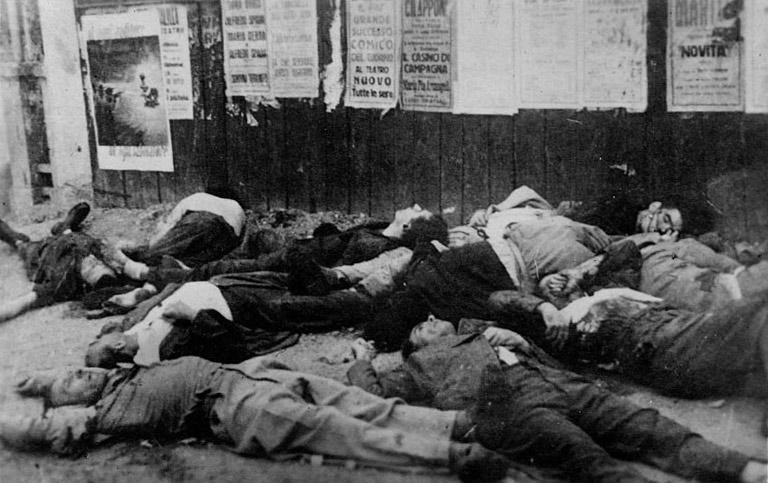 Milano, 10 agosto 1944 – L'eccidio di Piazzale Loreto