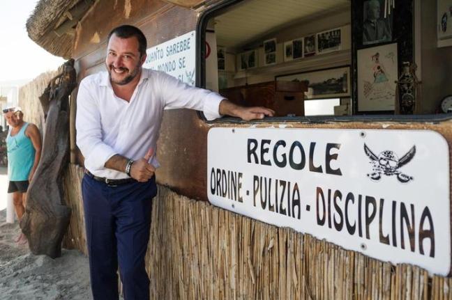 L'azzardo estivo di Matteo Salvini