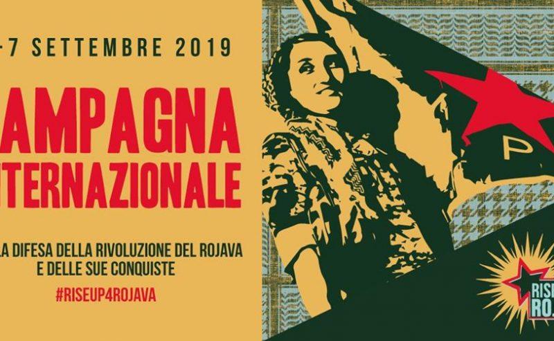 """6-7 settembre: Campagna internazionale """"Rise up 4 Rojava"""""""