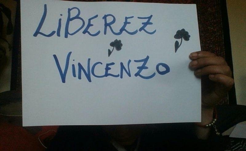 Presidio in solidarietà a Vincenzo – Ore 18 Stazione Centrale