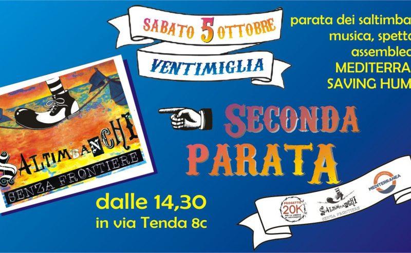 Ventimiglia – Parata Senza Frontiere #2