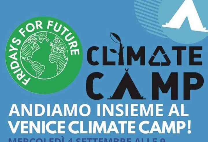 Climate Camp – Partenza da Milano