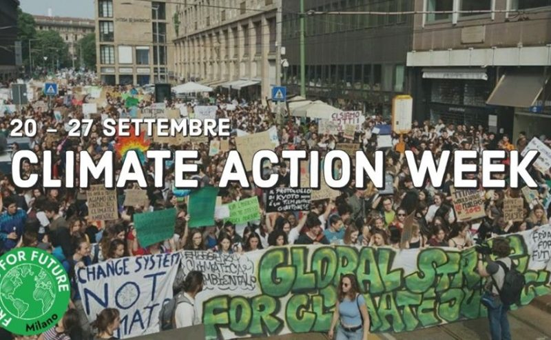 Climate Action Week 20-27 settembre | Milano