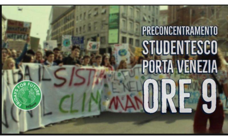 27SET: terzo sciopero globale per il clima – ore 9 @ Porta Venezia