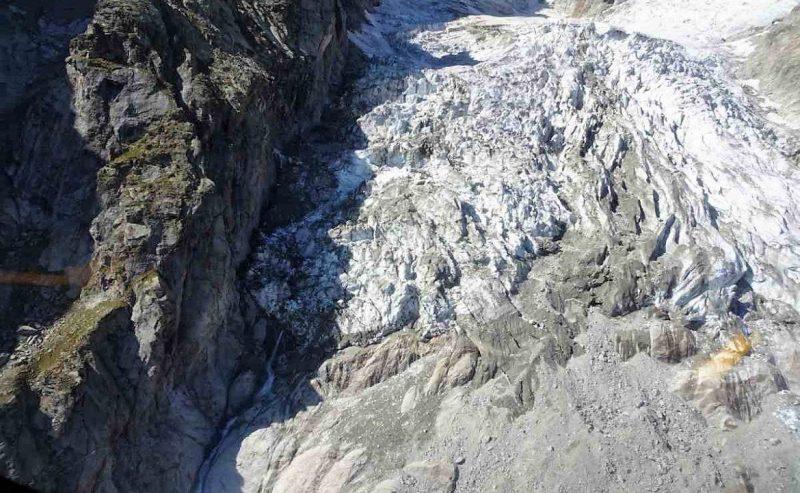 Monte Bianco, il ghiacciaio adesso cade più velocemente
