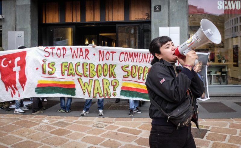 Chi vuole oscurare le pagine Facebook pro-curdi?