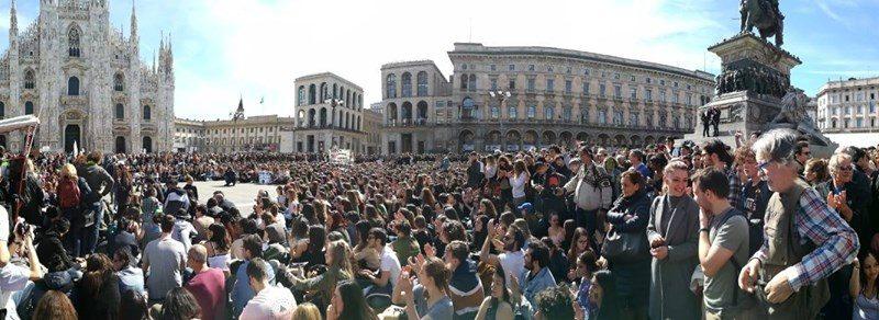 1° assemblea di FridaysForFuture dopo lo sciopero globale del 27