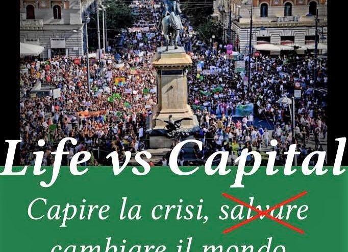 La vita si ribella al capitalismo dell'estinzione