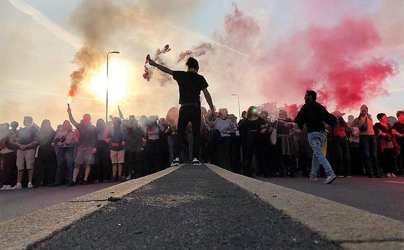 Minniti crea, Salvini costruisce, Lamorgese inaugura – 5.000 contro il Cpr a Milano